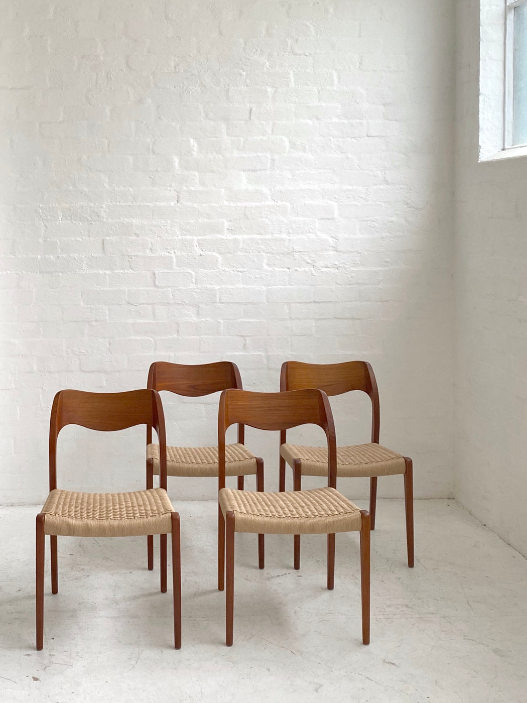 Niels Møller 'Model 71' Chairs