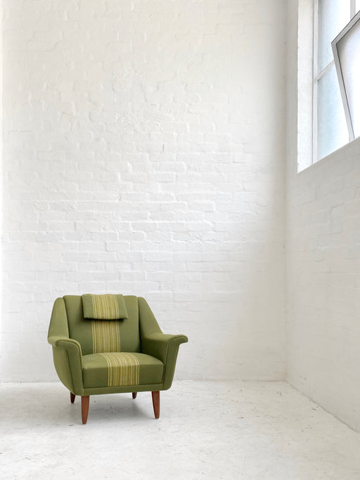 Danish Upholstered Easy Chair