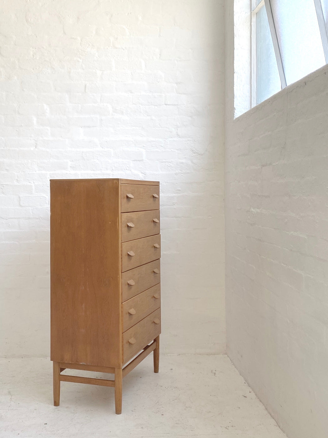 Poul Volther 'Model F17' Oak Tallboy Drawers