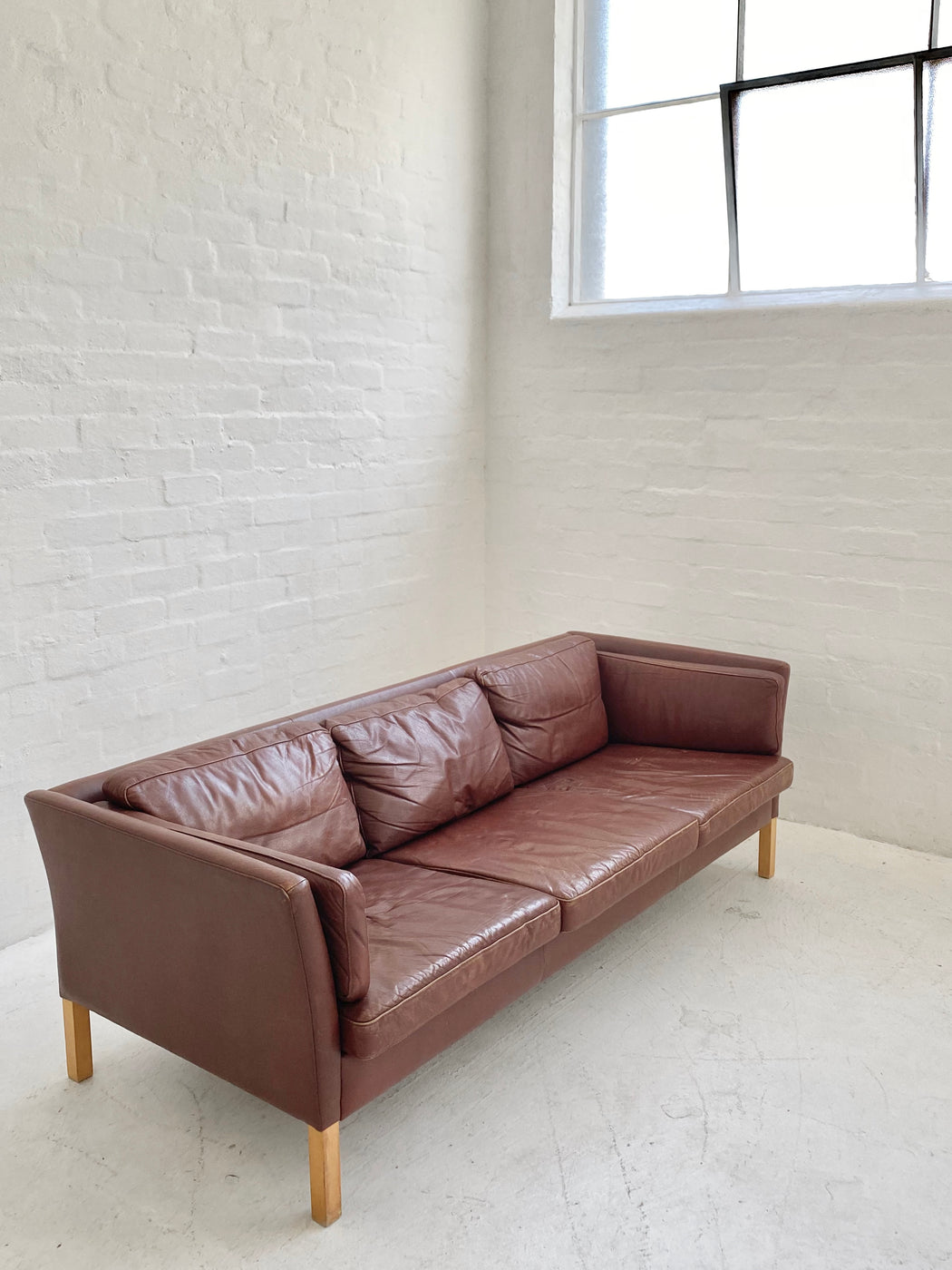 Stouby Leather Sofa
