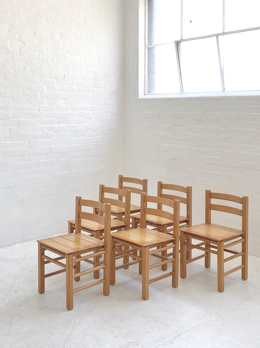 Danish 1970s Dining Chairs