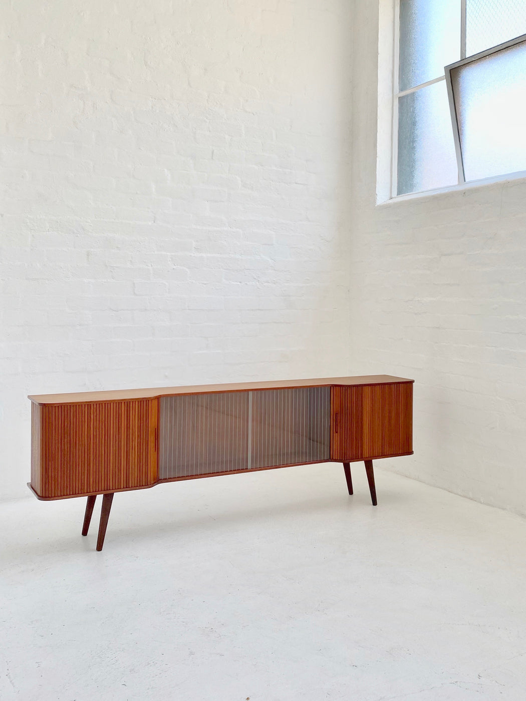 Danish Low Teak Sideboard