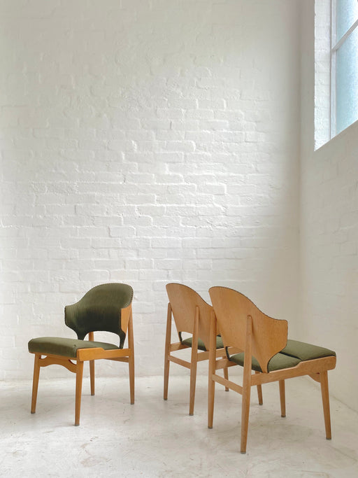 Danish Oak Side Chair