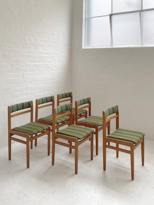 Danish Oak Dining Chairs