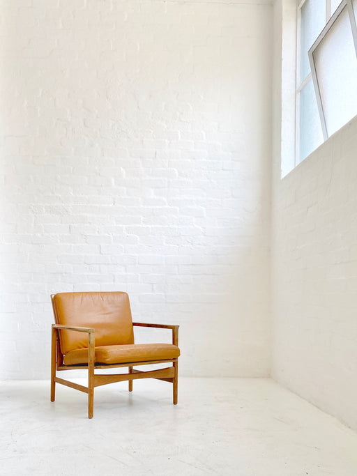Danish Oak Easy Chair
