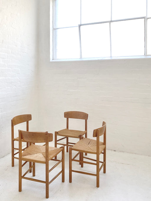 Børge Mogensen Oak 'J39' Chairs