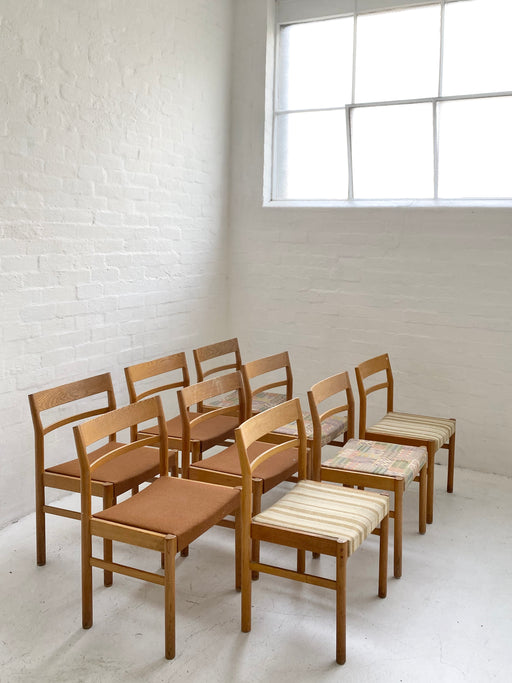 Set of Kurt Ostervig Oak Dining Chairs