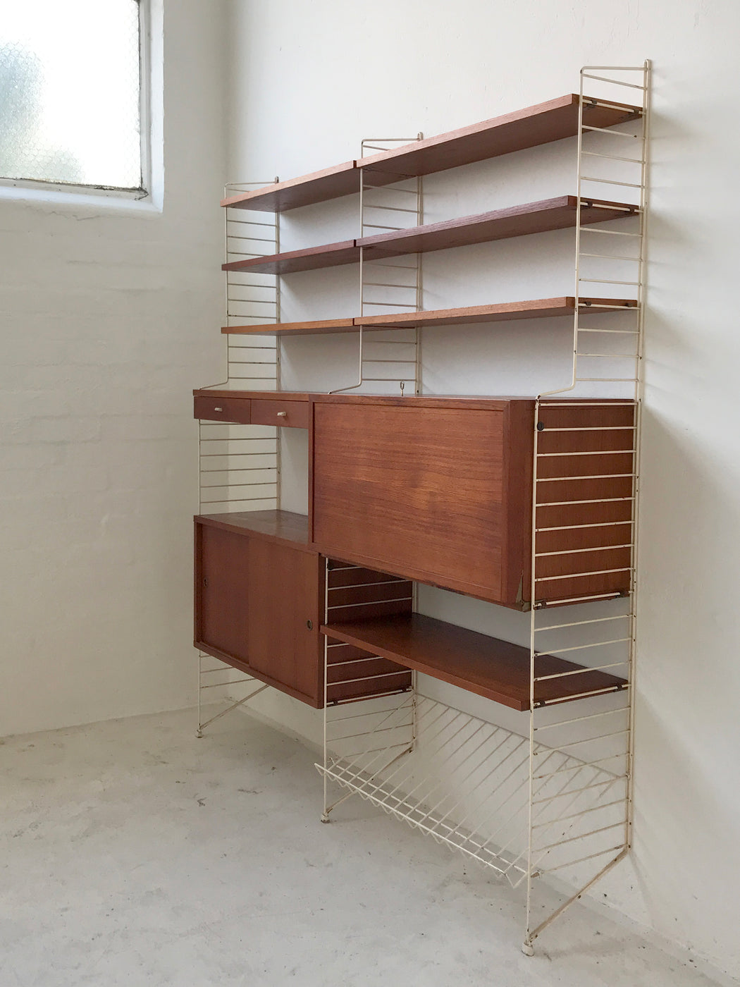 Nisse Strinning 'String' Wall Unit