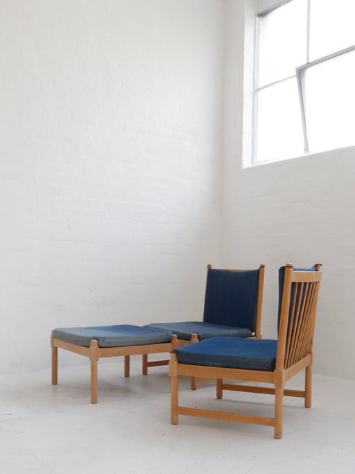 Børge Mogensen 'Model 4290' Chairs & Stool