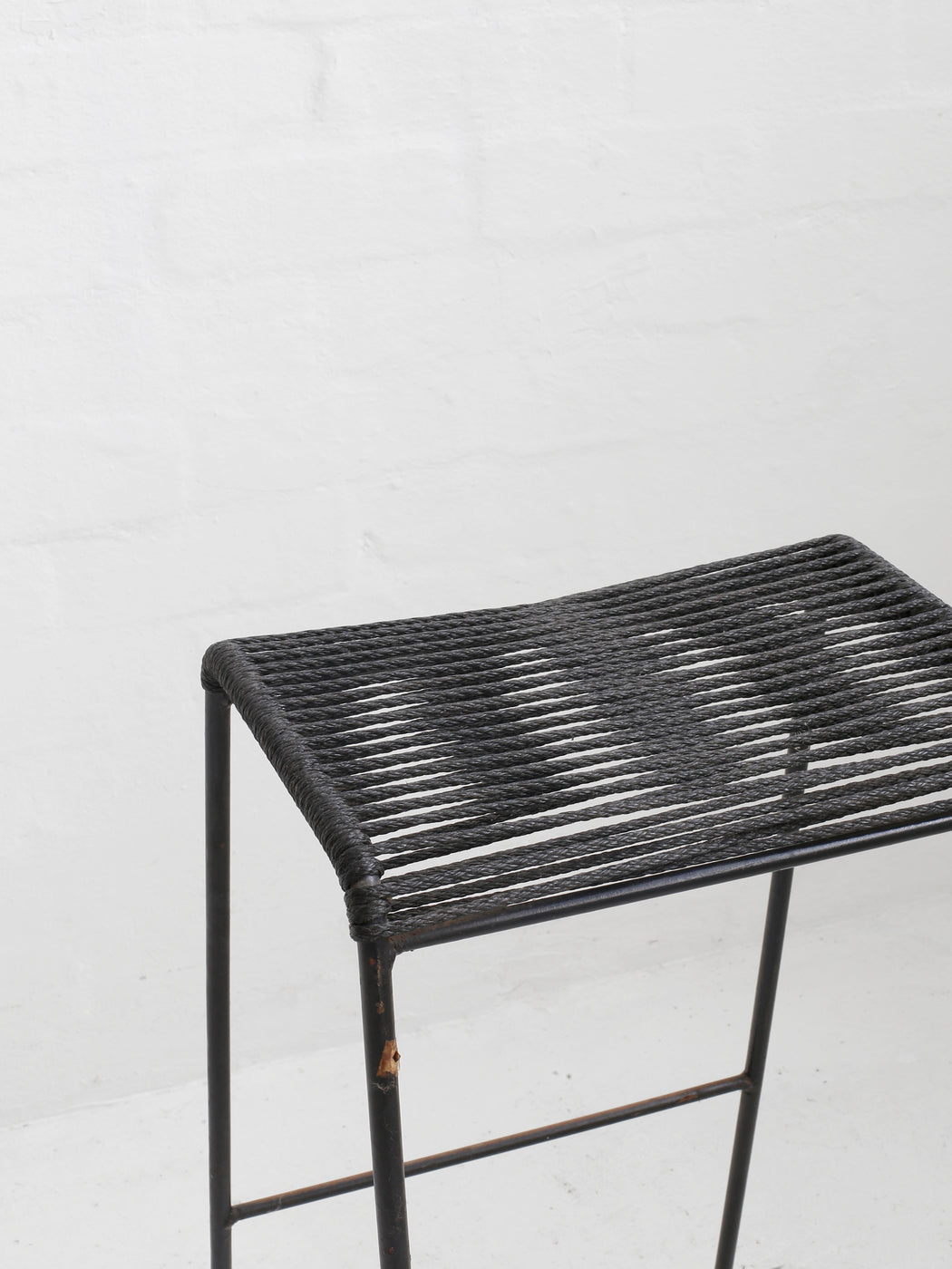 Clement Meadmore Cord Stool