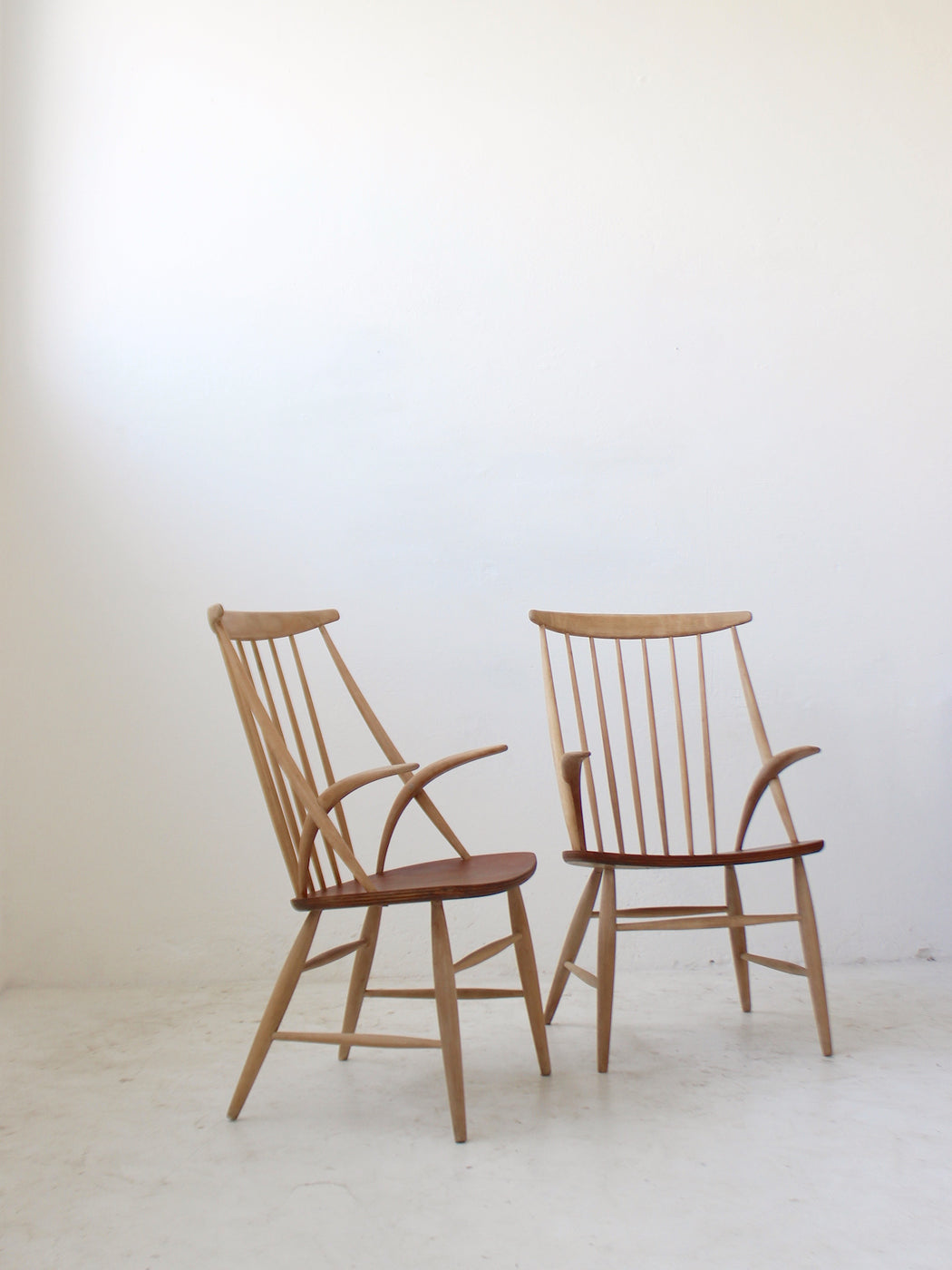 Illum Wikkelsø 'Spindle-Back' Chairs