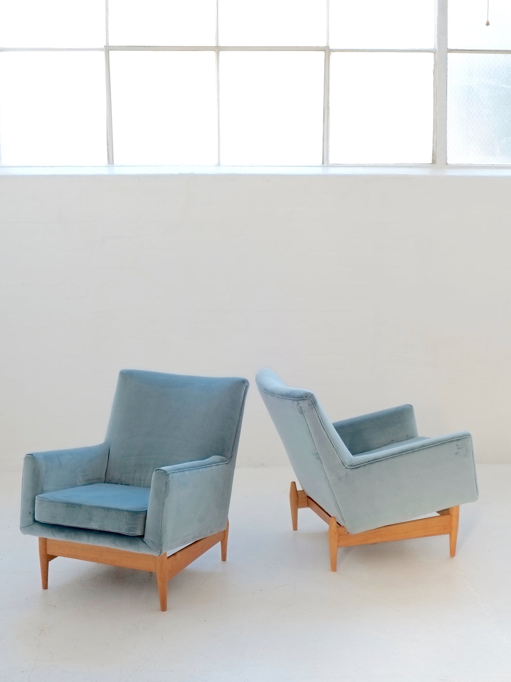 Mid-Century Easy Chairs