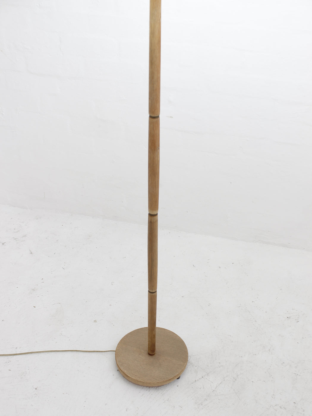 Danish Oak Standing Lamp