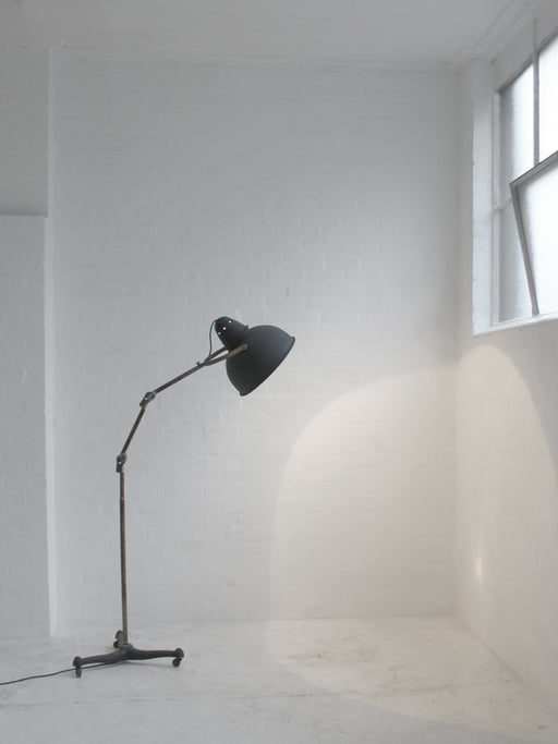 Industrial Standing Lamp