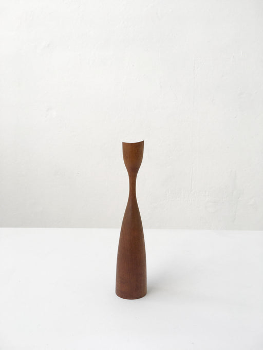 Danish Teak Candle Holder