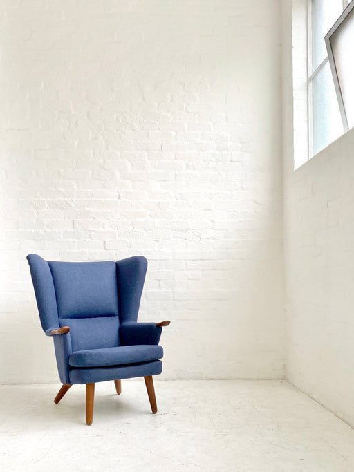 Danish Wingback Easy Chair