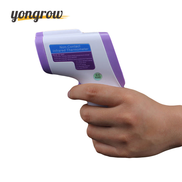 Yongrow Baby Thermometer Digital Infrared Thermometer Adult Digital Non-contact Thermometer LCD Medical Temperature Device