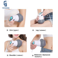 New Design Electric Noiseless Vibration Full Body Massager Slimming Kneading Massage Roller for Waist Losing Weight