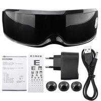 Health Electric Vibration Eye Massager Touch Display Eyes Care Device Wrinkle Fatigue Relieve Magnet Eye Therapy Eye Care