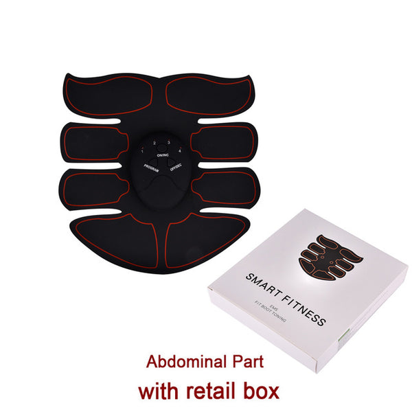 EMS Abdominal Muscle Training Simulator Device Wireless Belt Gym Professional Body Slimming Massage Home Fitness Beauty Gear