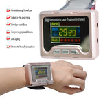 household laser therapy device to treat hypertension,LLLT for  diabetes,rhinitis,cholesterol,cerebral thrombosis