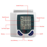 2017 Digital LCD Wrist Blood Pressure Monitors Meter Health Care Heart Beat Rate Pulse Measure Meter meter Galvanometers