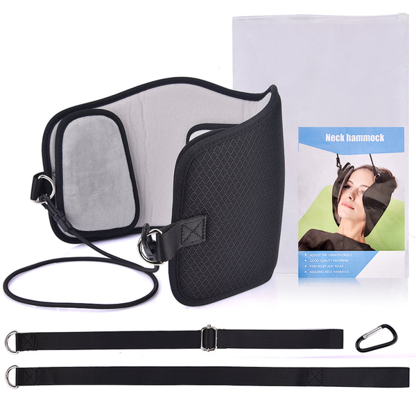 Neck Nerves Headaches Pain Relief Massage Hammock Effective Cervical Posture Alignment Braces Support For Home Office Travel