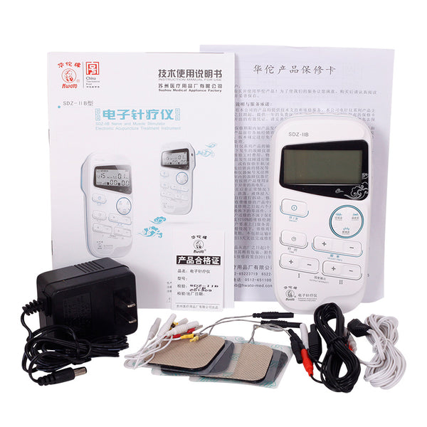 Hwato SDZ-IIB Handheld Acupuncture Simulator Electronic acupuncture treatment instrument 2 Channel Electronic Nerve simulator