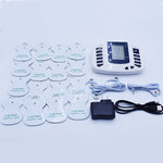 Acupuntura Electronica Full Body Muscle Therapy Massage Machine Pulse Tens Acupuncture +16 Electrode Pads Body Massager
