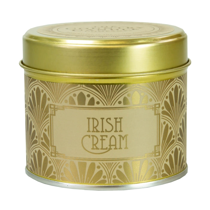 Country Candle Irish Cream Happy Hour Luxury Tin Candle