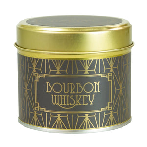 Country Candle Bourbon Whiskey Happy Hour Luxury Tin Candle