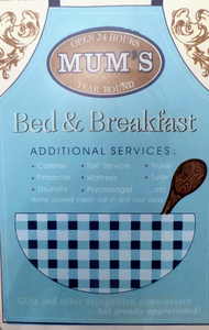Mums Bed & Breakfast Vintage Metal Sign Large-The Useful Shop
