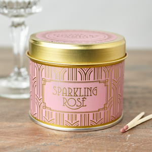 Country Candle Sparkling Rosé Happy Hour Luxury Tin Candle