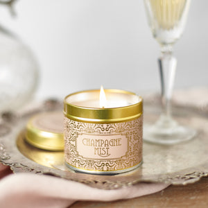 Country Candle Champagne Mist Happy Hour Luxury Tin Candle