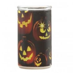 Root Candles Halloween Candle Jack O Lantern Bottle Light Mulled Cider-The Useful Shop