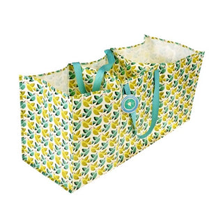 Love Birds Design Recycled 3 Section Recycling Storage Bag by Rex London