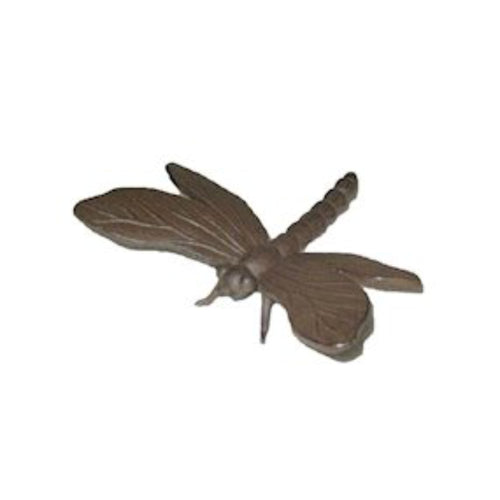 Cast Iron Dragonfly Ornament for Home and Garden, Plants Post and Patio by Ascalon