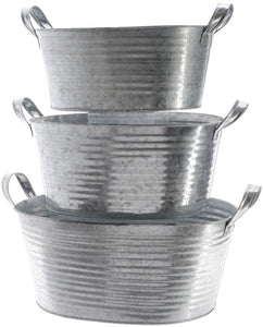 Decoris Metal Tubs