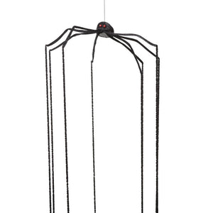 XL Long Legged Black Hanging Halloween Spider-The Useful Shop