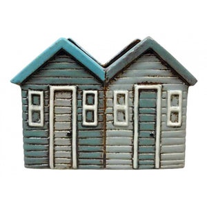 Single Ceramic Beach Hit Planter - 2 Huts