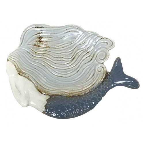 Ceramic Pottery Mermaid Small Decorative Dish