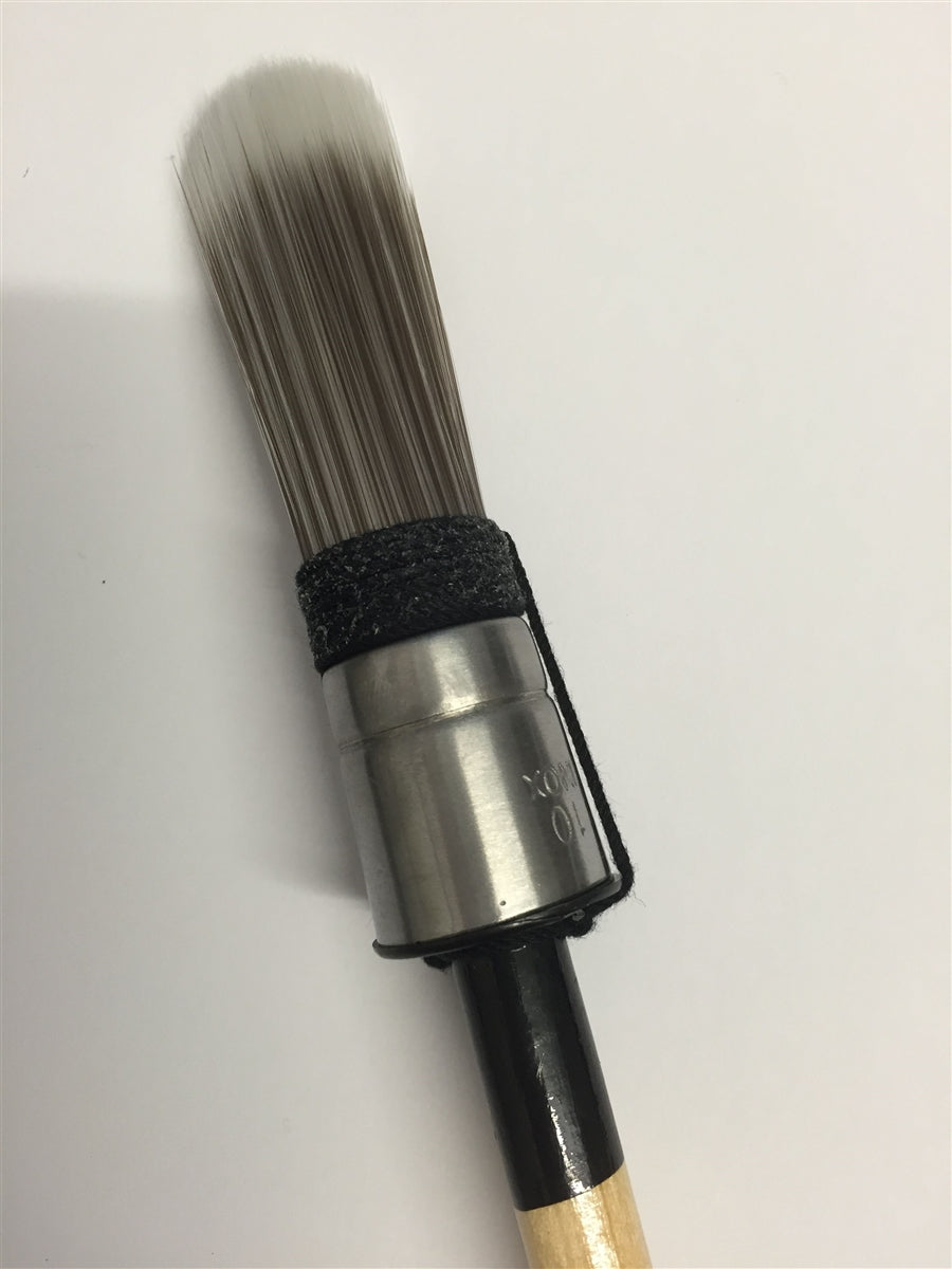 Sarah Jayne Signature Chalk Paint Small 20MM Round Furniture Painting Brush-The Useful Shop