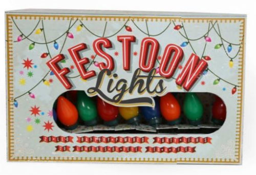 Vintage Style Battery Operated Festoon Coloured Lights by Temerity Jones-The Useful Shop