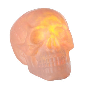 Giant Fire and Ice Halloween Skull Decoration with Lights and Sounds-The Useful Shop