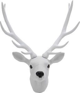 White Snow Deer Christmas Wall Decoration-The Useful Shop