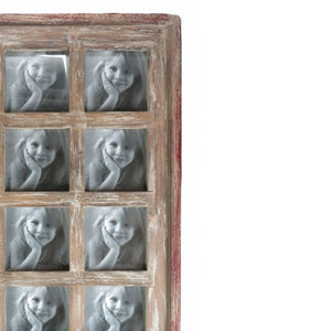 Shabby Driftwood Style Large Picture Frame - Instagram Style Layout