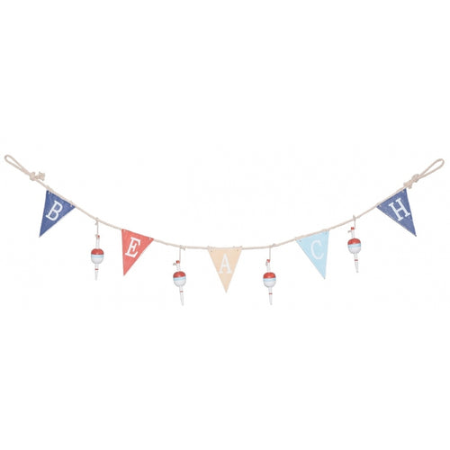 Wood and Rope Beach Theme Garland