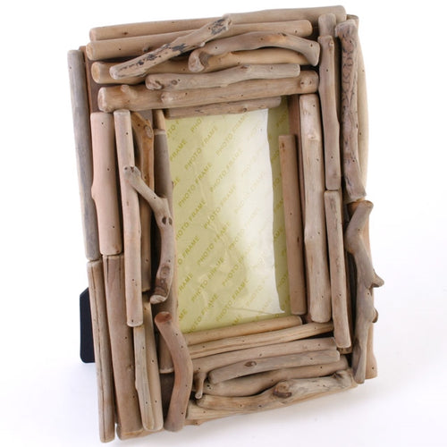 Natural Balinese Driftwood Photo Frame Fairtrade-The Useful Shop