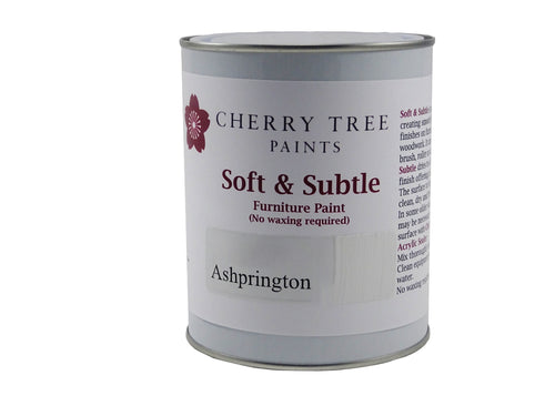 Cherry Tree Paints Ashprington Vintage White Soft & Subtle Decor Paint