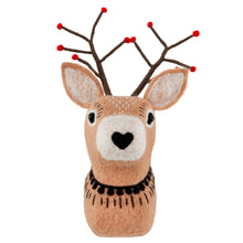 Woodland Forest Folk Reindeer Cute Felt Wall Decoration